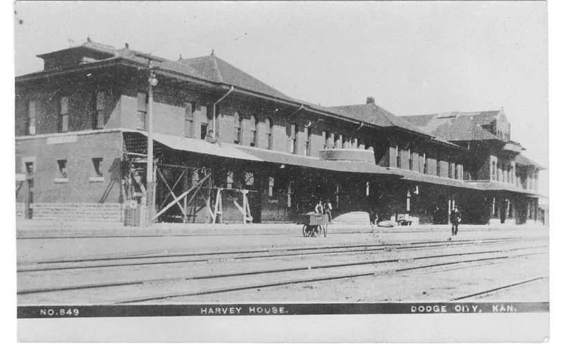 ATSF depot/Harvey House