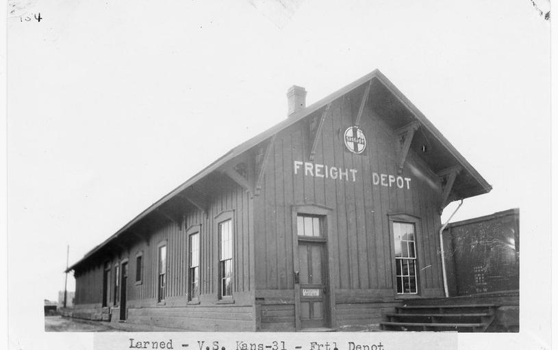 ATSF freight depot