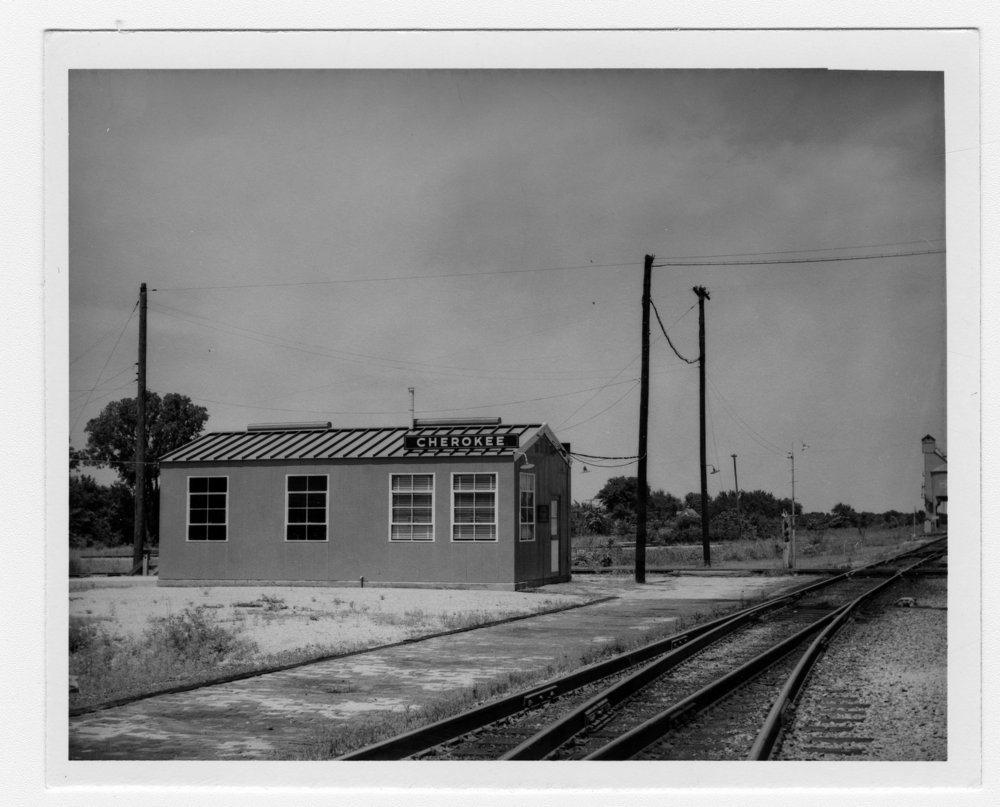 SLSF box depot & rr crossing