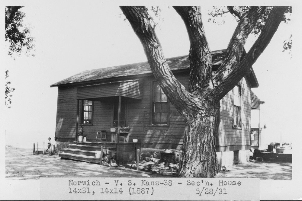 ATSF section house