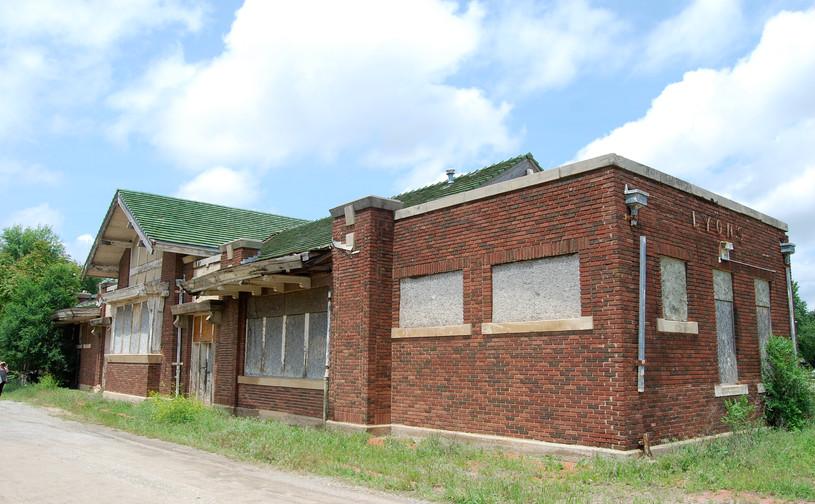 ATSF/SLSF depot