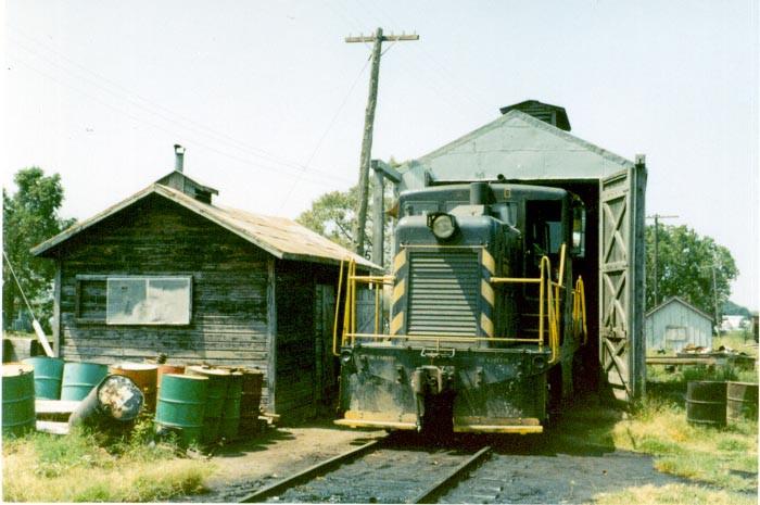 SLSF locomotive facility