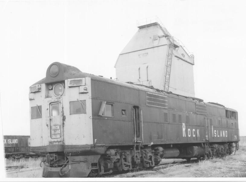 CRIP coal tower and motorcar