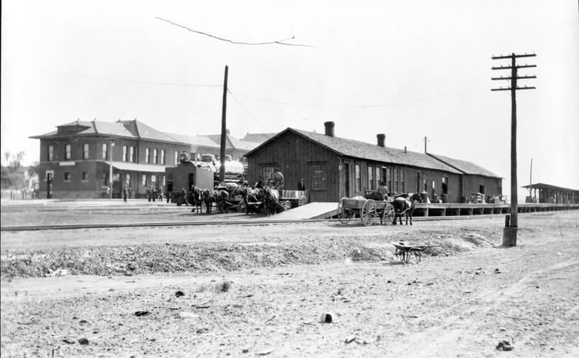 ATSF depots