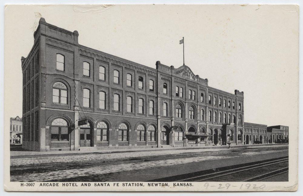 ATSF Arcade Hotel & Harvey House