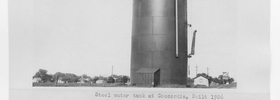 ATSF Steel Water Tank