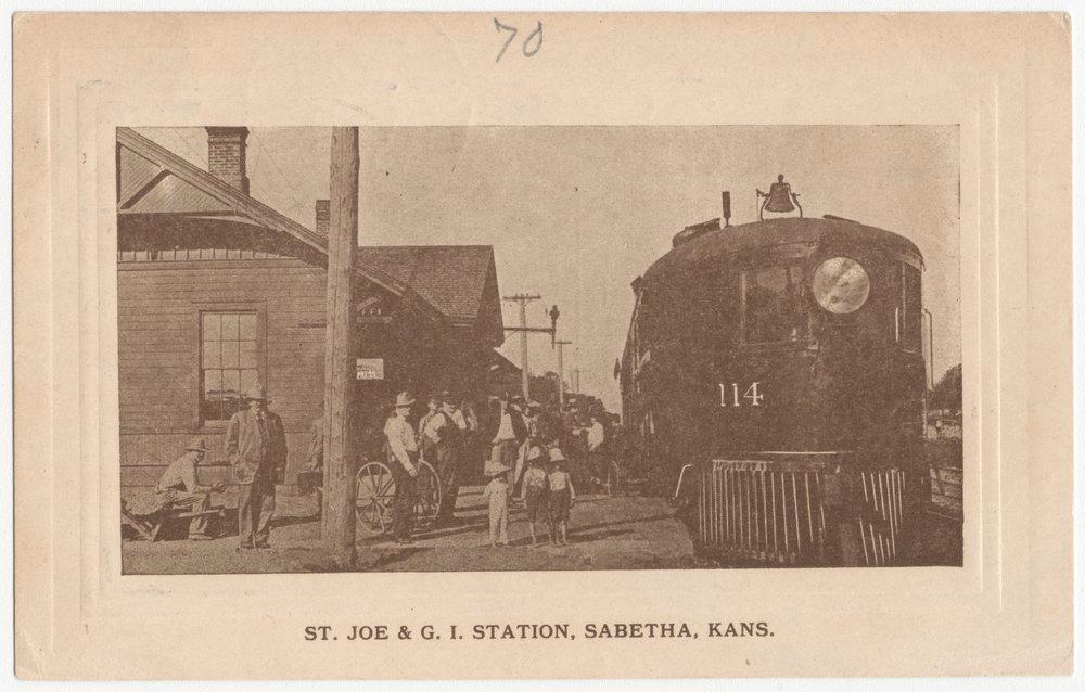 ST.J & GI depot