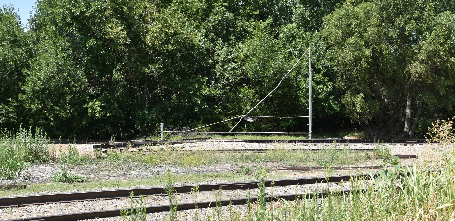 ATSF/UP crossing- Looking West