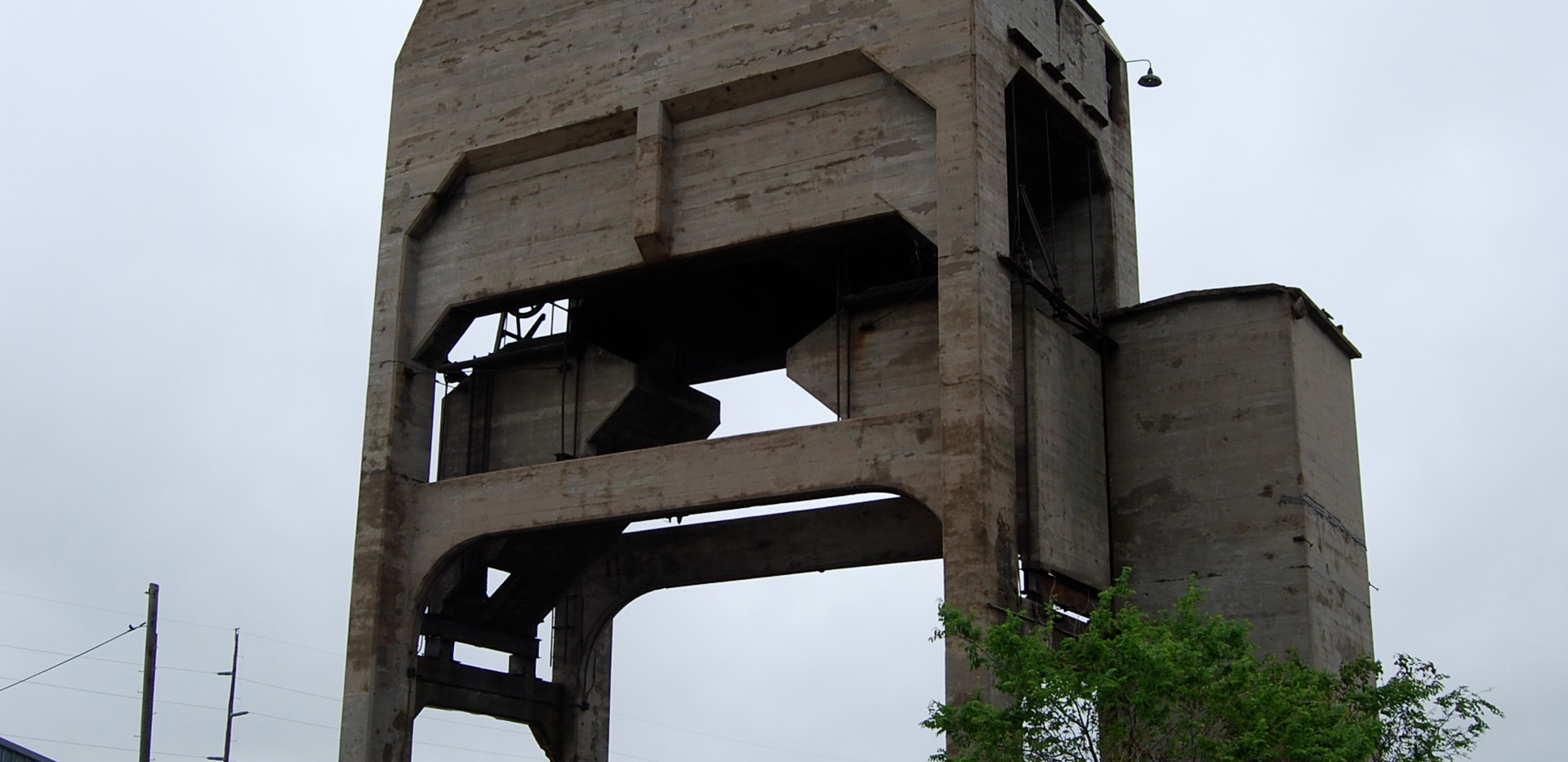ATSF coal tower