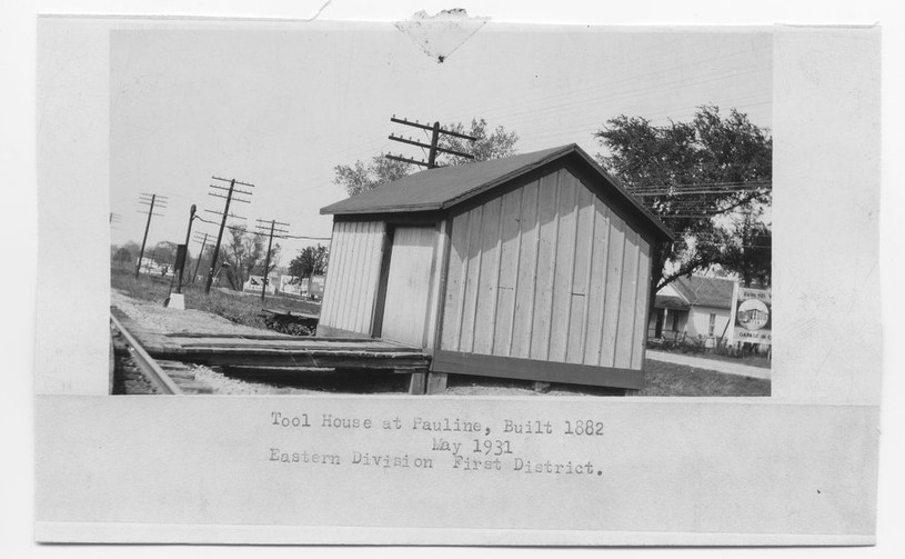 ATSF tool house