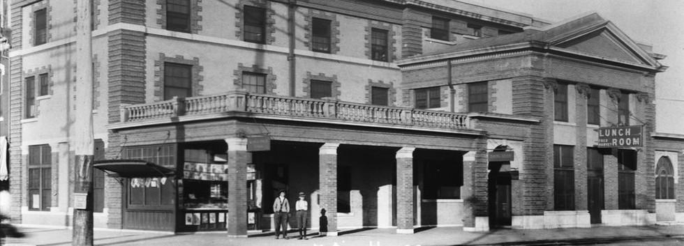 ATSF depot/ Fred Harvey House