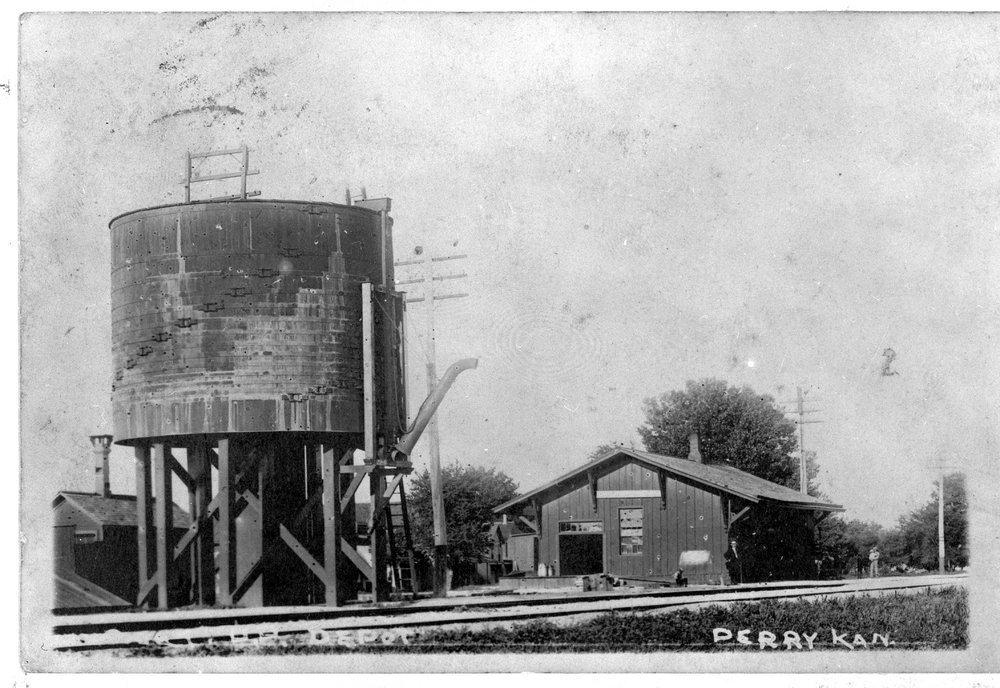 UP depot & water tank