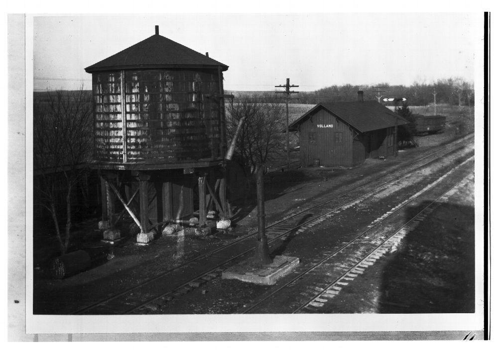 CRIP depot & water tower