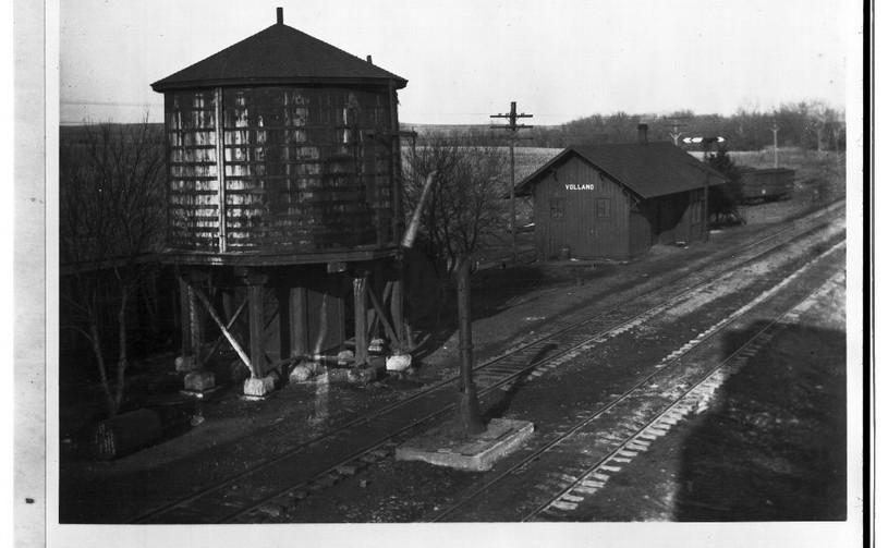 CRIP water tower & depot