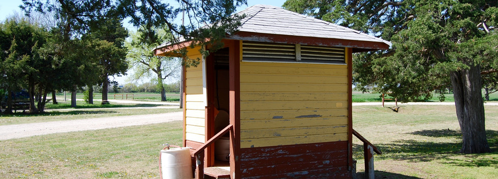 MP depot outhouse