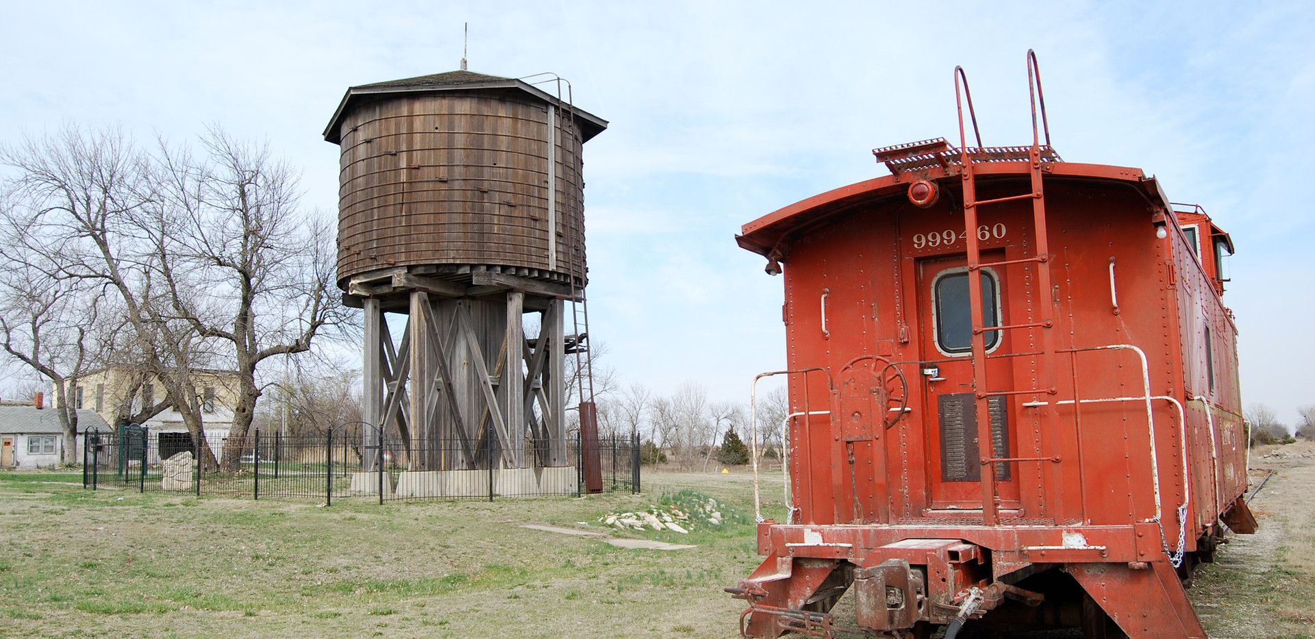 SLSF water tower