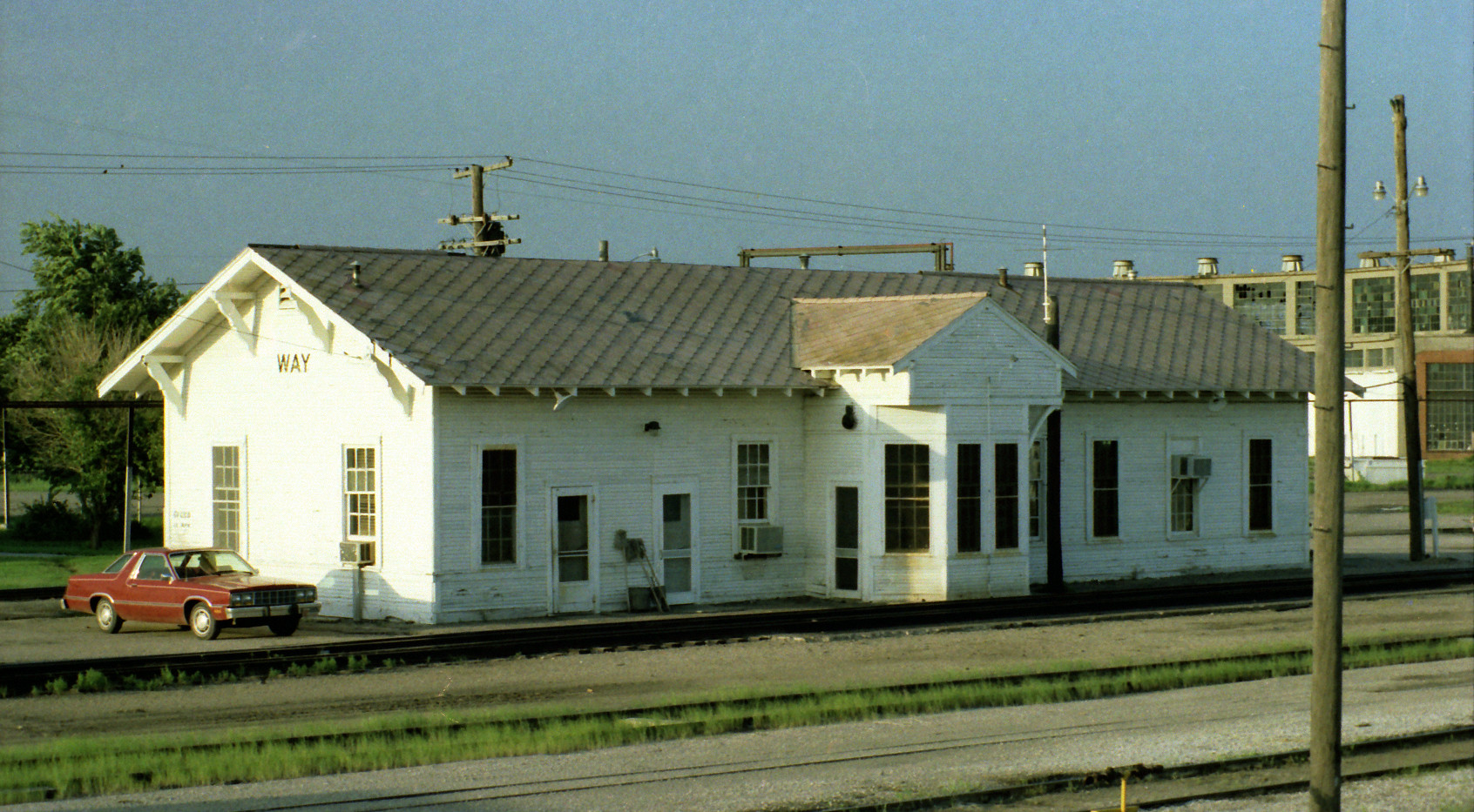 ATSF yard office