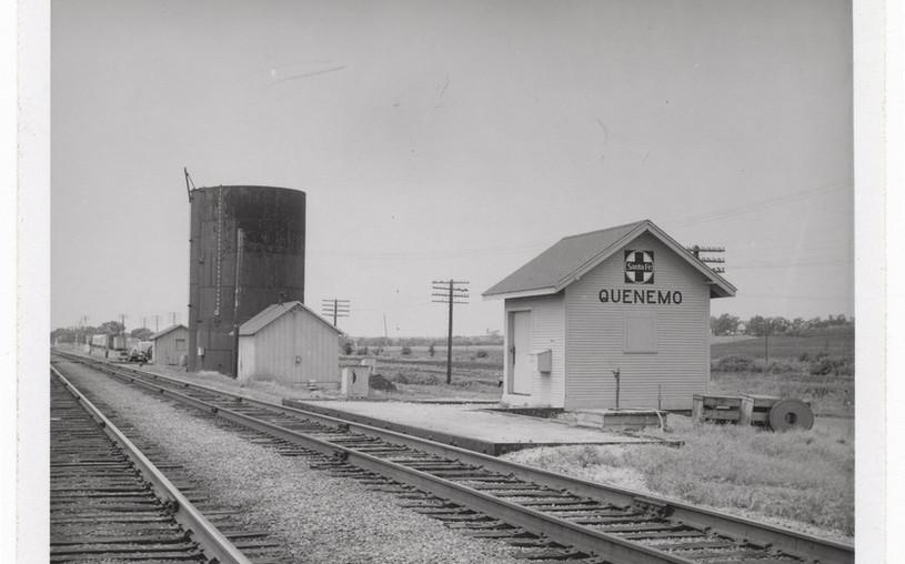 ATSF water tower