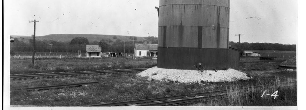 ATSF water tank