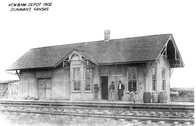 KCW&NW depot