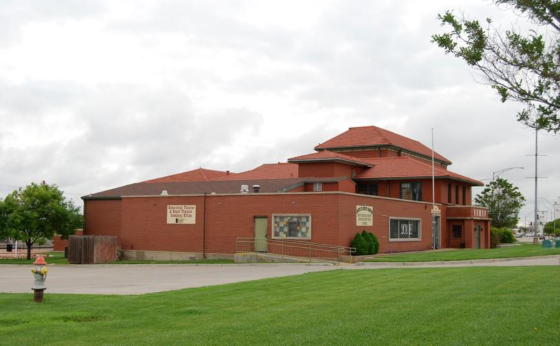 ATSF depot & Harvey House