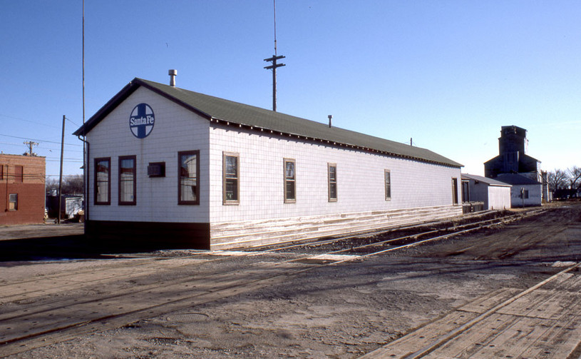 ATSF freight house