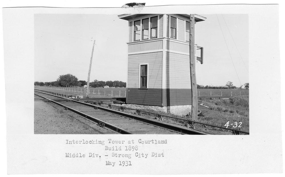 ATSF interlocking tower