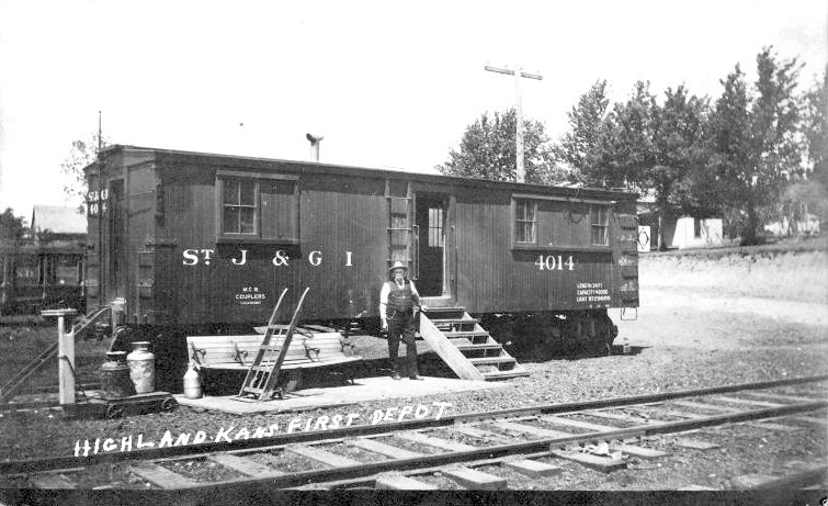 St.J&GI depot