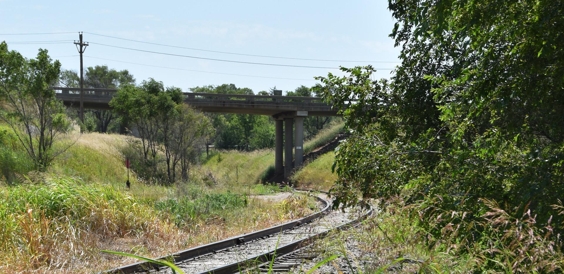 ATSF/UP crossing- Looking East
