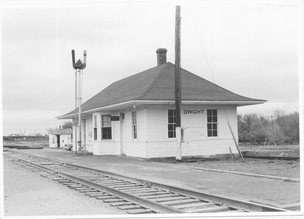 13 Rock Island Dwight KS Depot 0-48-3-4