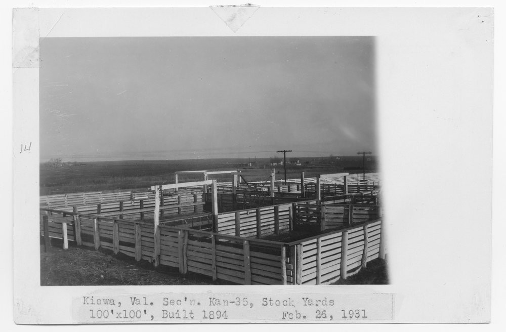 ATSF cattle pens