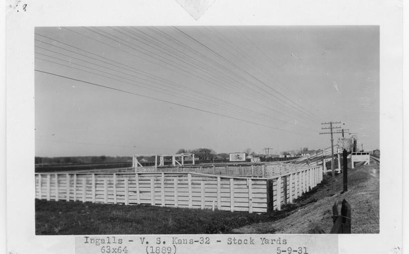 ATSF stockyards