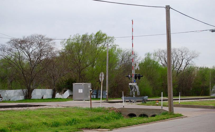 Site of former ATSF Depot- Winfield