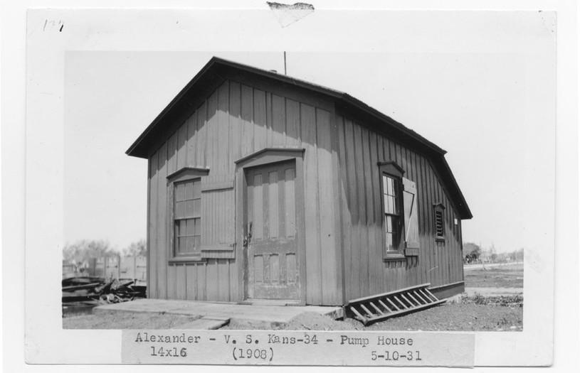 ATSF pump house