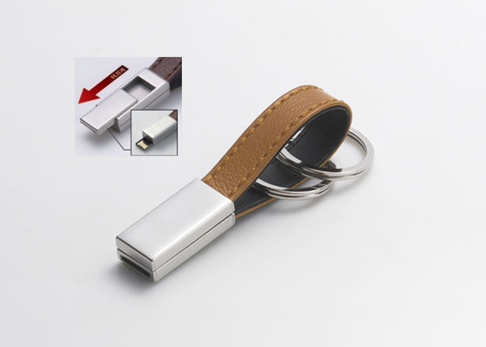 Leather Slide USB