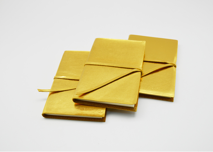 Metallic Gold Journal