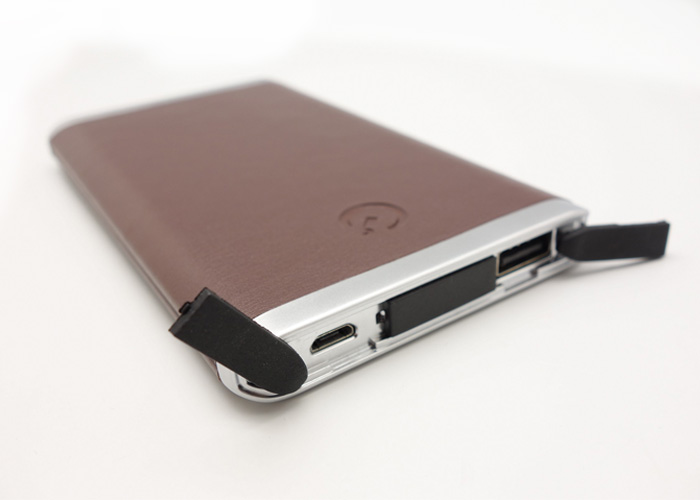 5000mAh Leatherette Powerbank