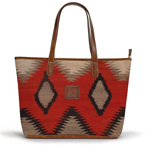 Savannah Zippered Tote - Fall Collection