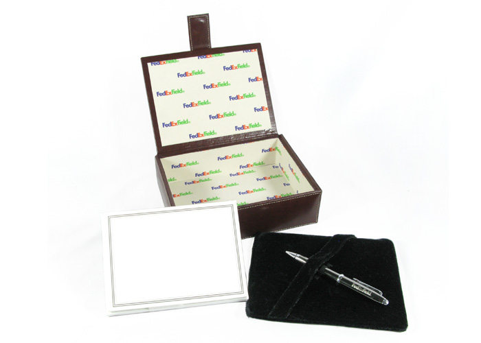 Hampton Box Stationery Set with Pen