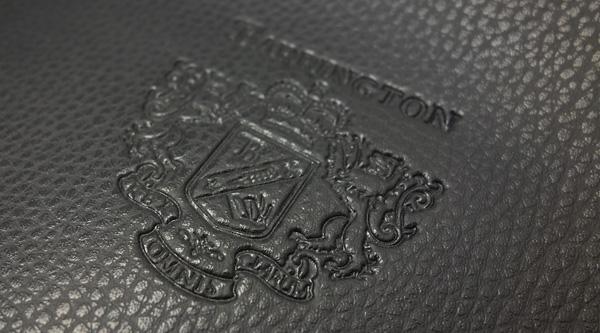 Black Venice leather