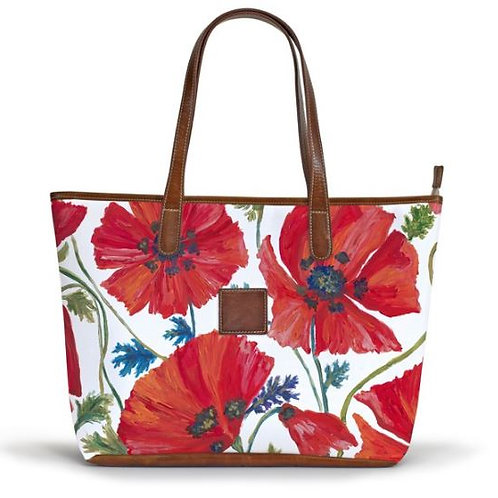 Savannah Zippered Tote - Summer Collection