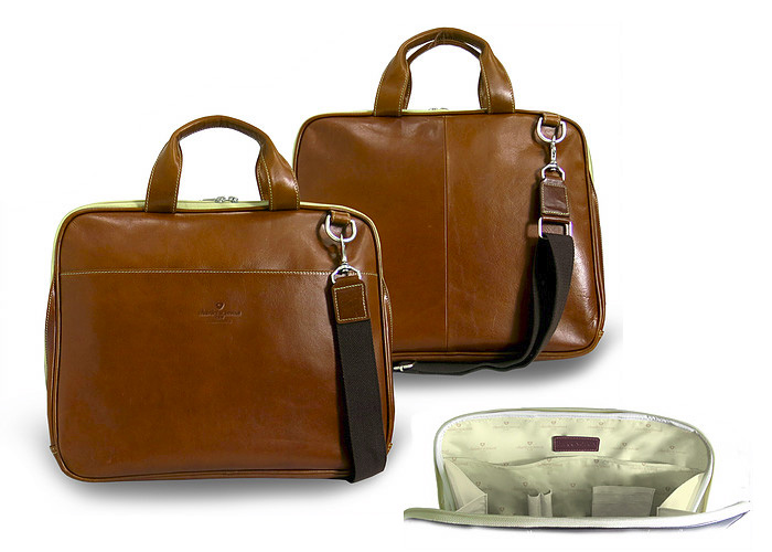 Thin Laptop Brief Case
