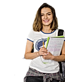 smiling-girl-holding-notebooks-leaning-t