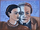 Frida's love letter, Diego, Love you more than my own skin