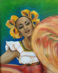 Folklorico Dancer VVL
