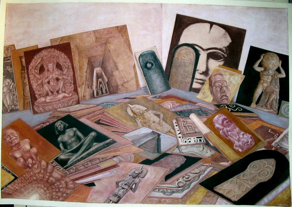 La stanza dell'artista