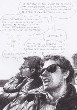 Enrico Oldoini and Fabrizio Lucci
