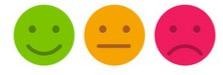 Survey emoji