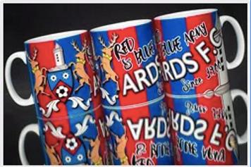Red and Blue Army Mug