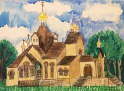 ВТОРОЙ ПРИЗ: СОФИЯ, ученица Церковно-приходской школы имени Св. Александра Невского